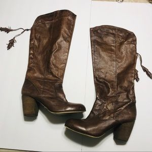 Steve Madden tall leather boots